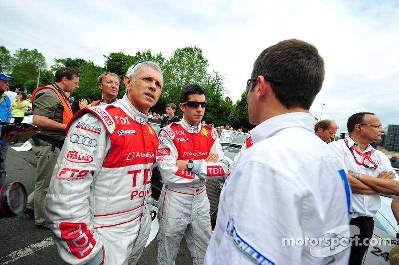 Rinaldo Capello, Marco Werner and Nicolas Minassian