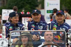 Karim Ojjeh, Claude-Yves Gosselin and Philipp Peter