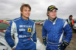 Mads Ostberg and Andreas Mikkelsen