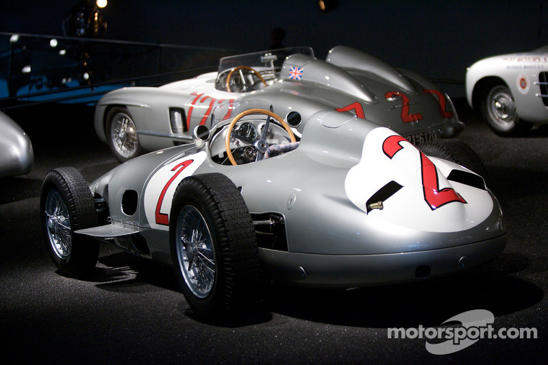 Silver arrows: 1955 Mercedes-Benz W 196 R 2.5-liter Formula One racing car