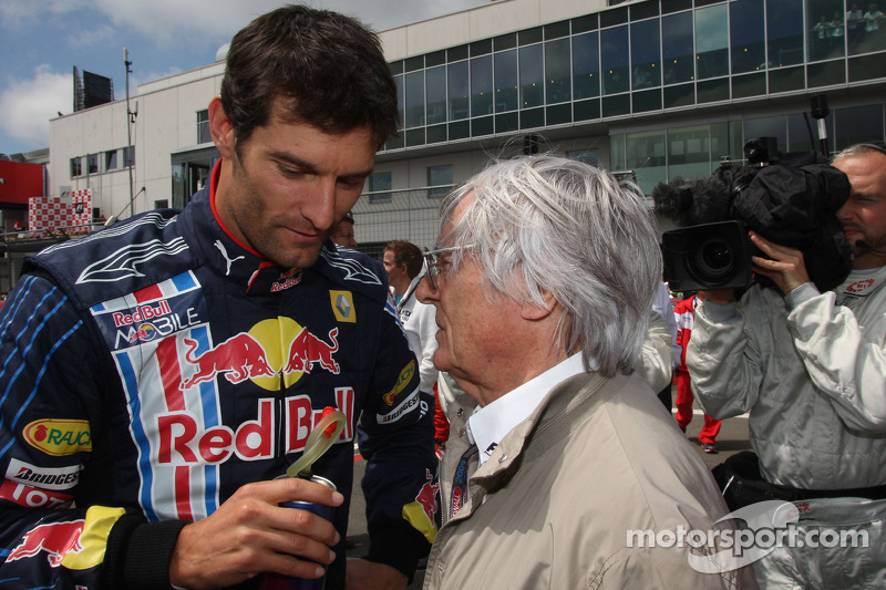Mark Webber, Red Bull Racing and Bernie Ecclestone