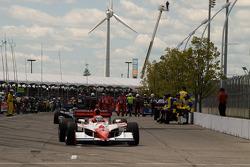 Hideki Mutoh, Andretti Green Racing heads to pace laps