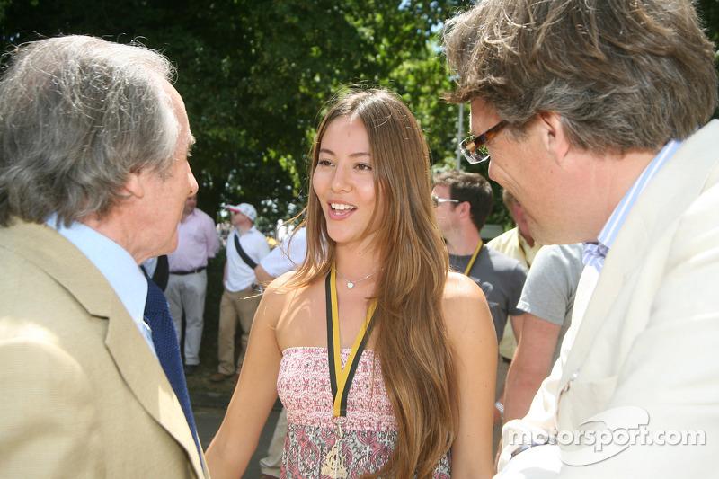 С Джеки Стюартом и лордом Марчем в Гудвуде