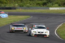 #92 BMW Rahal Letterman Racing Team BMW E92 M3: Tom Milner, Dirk Muller, #40 Robertson Racing Doran Ford GT MK 7: David Robertson, Andrea Robertson, David Murry
