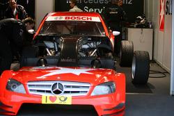 Car of Mathias Lauda, Mücke Motorsport, AMG Mercedes C-Klasse