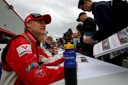 Sebastian Hohenthal in the autograph session