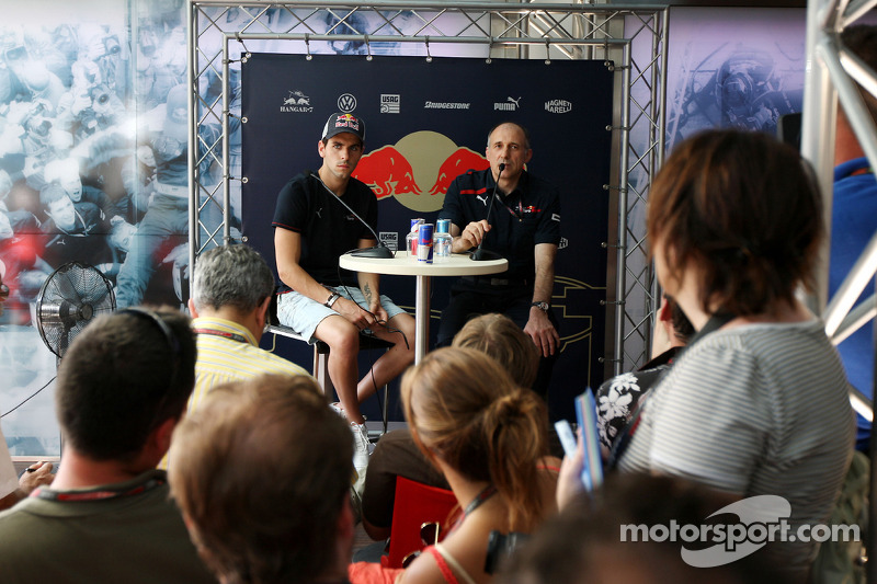 Jaime Alguersuari, Scuderia Toro Rosso, Franz Tost, Scuderia Toro Rosso, Team Principal