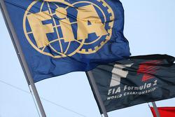 Флаги Ф1 и FIA