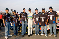Colin Braun poses with guests