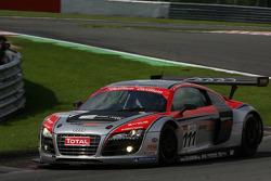 #111 Phoenix Racing Audi R8 LMS: Marcel Fässler, Henri Moser, Alexandros Margaritis, Marc Basseng