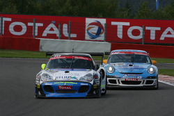 #117 PMB Motorsport Porsche 996 Bi-Turbo: Philippe Ullmann, Wolfgang Kaufmann, Gilles Vannelet, Jonathan Hirschi