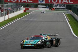 #33 Vitaphone Racing Team DHL Maserati MC 12: Alessandro Pier Guidi, Stéphane Lemeret, Carl Rosenbla