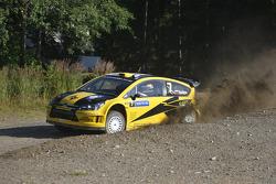 Евгений Новиков и Дмитрий Чумак, Citroen Junior Team Citroen C4 WRC