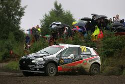 Kimi Raikkonen and Kaj Lindstrom, Fiat Grande Punto S2000