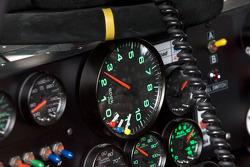 Instrument panel of the Hendrick Motorsports Chevrolet of Dale Earnhardt Jr.