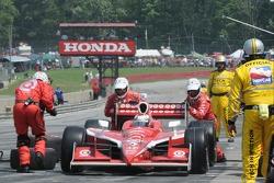 Pitstop for Scott Dixon, Target Chip Ganassi Racing