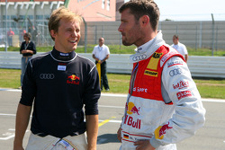 Martin Tomczyk, Audi Sport Team Abtand Mattias Ekström, Audi Sport Team Abt