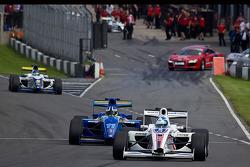 Jolyon Palmer leads Jack Clark and Alex Brundle