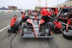 Dale Coyne Racing team members at work
