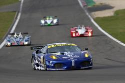 #99 JMB Racing Ferrari F430 GT: John Hartshorne, Peter Kutemann