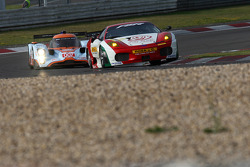 #91 FBR Ferrari F430 GT: Gabrio Rosa, Andrea Montermini, Giacomo Ricci