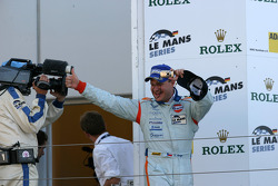 LMP1 podium: class and overall winner Tomas Enge
