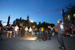 Entertainment in Old Montréal