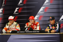 Giancarlo Fisichella, Force India F1 Team, Kimi Raikkonen, Scuderia Ferrari, Sebastian Vettel, Red Bull Racing