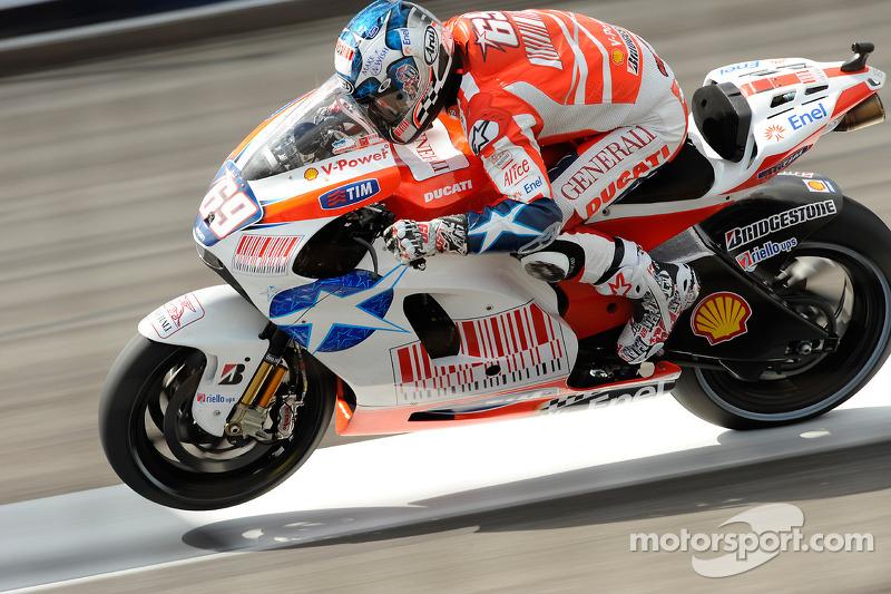 Ducati - Nicky Hayden - MotoGP Indianapolis 2009