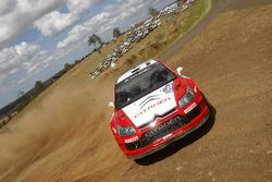 Conrad Rautenbach and Daniel Barritt, Citroen Junior Team Citroen C4 WRC
