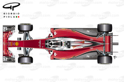 Ferrari SF16H top view