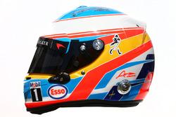 Il casco di Fernando Alonso, McLaren