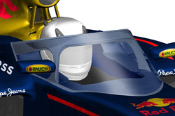 Un concept de protection de cockpit conçu par Red Bull