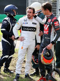 استيبان غوتيريز، فريق هاس مع فرناندو ألونسو، مكلارين