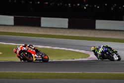 Marc Márquez, Repsol Honda Team, Honda y Valentino Rossi, Movistar Yamaha MotoGP, Yamaha