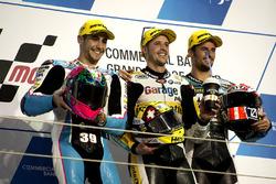 Podium: 1. Thomas Lüthi, Garage Plus Interwetten, Kalex; 2. Luis Salom, SAG Team, Kalex; 3. Simone Corsi, Speed Up Racing, Speed Up
