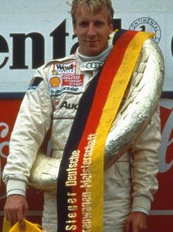 Церемония награждения: чемпион 1991 года Франк Била, Audi