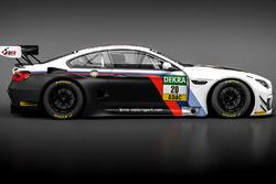 Der BMW M6 GT3 für die BMW Motorsport Juniors, Schubert Motorsport