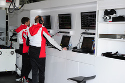 Ingegneri del Porsche Team