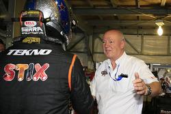 Steve Hallam, team manager Tekno Autosports