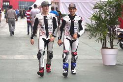 Francesco Bagnaia und Jorge Martin, Aspar Team Mahindra Moto3