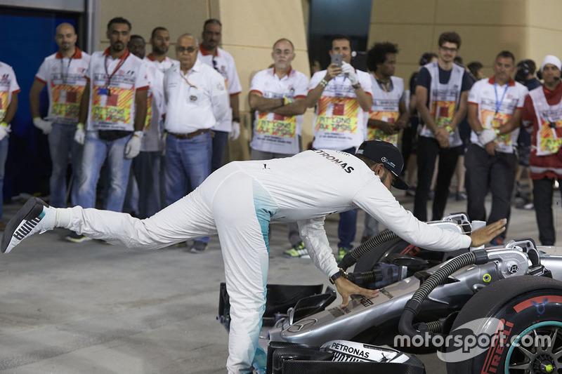 Tercer lugar, Lewis Hamilton, Mercedes AMG F1 Team