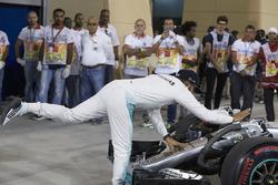 Terzo posto Lewis Hamilton, Mercedes AMG F1 Team