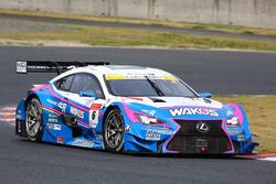 #6 Team LeMans Lexus RC F: Kazuya Oshima, Andrea Caldarelli