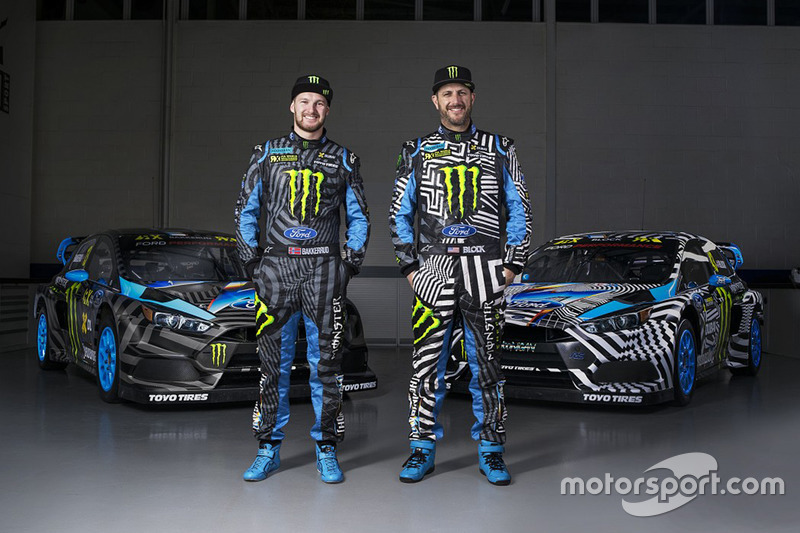 Andreas Bakkerud, Ken Block, Hoonigan Racing Division Ford