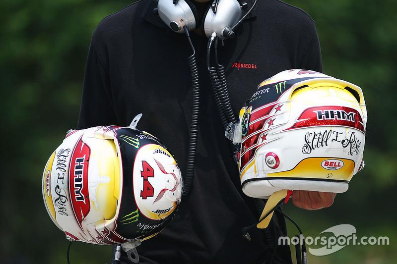 Шлем Льюиса Хэмилтона, Mercedes AMG F1 Team