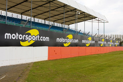Motorsport.com signage around the track