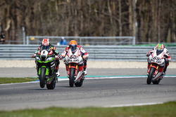Michael van der Mark, Honda WSBK Team e Jonathan Rea, Kawasaki Racing Team