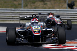 George Russell, HitechGP, Dallara F312 - Mercedes-Benz; 11 Nikita Mazepin, HitechGP, Dallara F312 - Mercedes-Benz