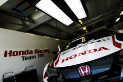 The car of Norbert Michelisz, Honda Racing Team JAS, Honda Civic WTCC